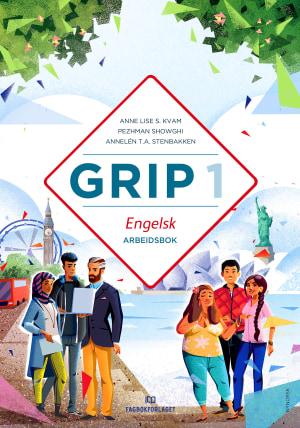 Grip 1 Engelsk Arbeidsbok, d-bok