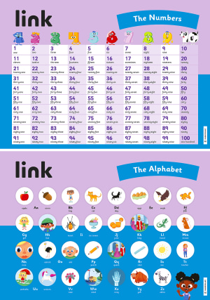 link plakater 2 The Numbers and the Alphabet