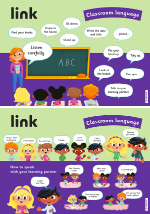 link plakater 3 Classroom Language