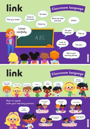 link plakater 3 Classroom Language