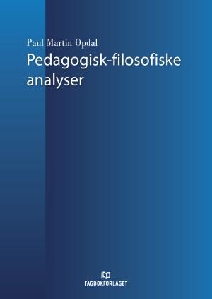 Pedagogisk-filosofiske analyser