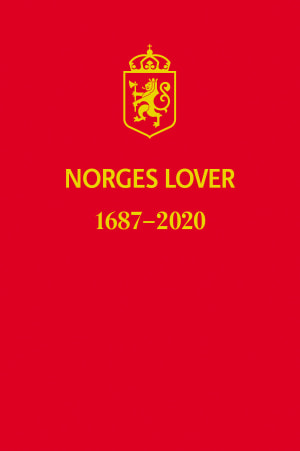 Norges Lover 1687-2020 studentutgave