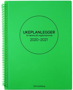 Ukeplanlegger for lærere på ungdomstrinnet 2020-2021