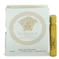 Buy Versace Eros by Versace Vial EDT sample .03 oz for Women online at best price, reviews