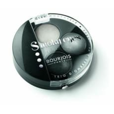Bourjois Paris Smoky Eye Shadow Trio 01- Gris Dandy 0.15 Oz (4.5 Ml)Smoky Black, Silver, Gray by Bourjois  for Women