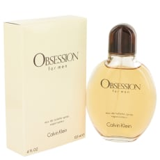 OBSESSION by Calvin Klein 4 oz Eau De Toilette Spray for Men
