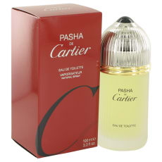 PASHA DE CARTIER by Cartier 3.3 oz Eau De Toilette Spray for Men