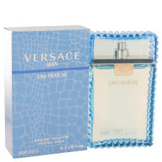 Versace Man by Versace 6.7 oz Eau Fraiche Eau De Toilette Spray (Blue) for Men
