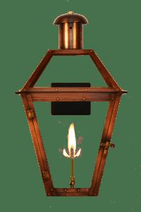 Georgetown Wall Gas Lantern
