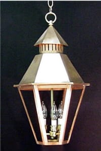 South Battery Chain Hung Outdoor Lantern