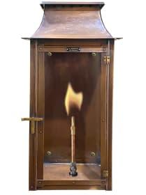 Flambeaux Colonial Flush Mount Gas Lantern