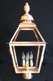 Rue Charles Medium-Large Post Top Lantern