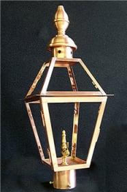 Rue Charles Medium Post Mount Lantern