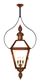 Georgetown Pendant Yoke with London Top and Bottom