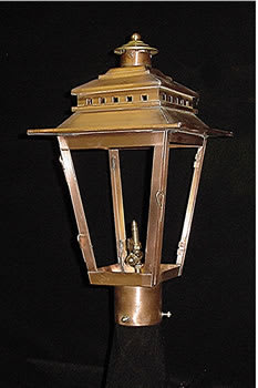 Ashley Street Post Top Outdoor Lantern