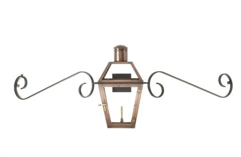 Bourbon Street mustache lantern