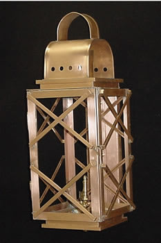 High Battery Wall Outdoor Lantern