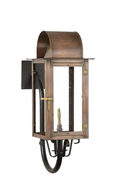 Lafitte goose neck lantern