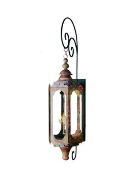 Mediterranean Lantern by Copper Sculptures