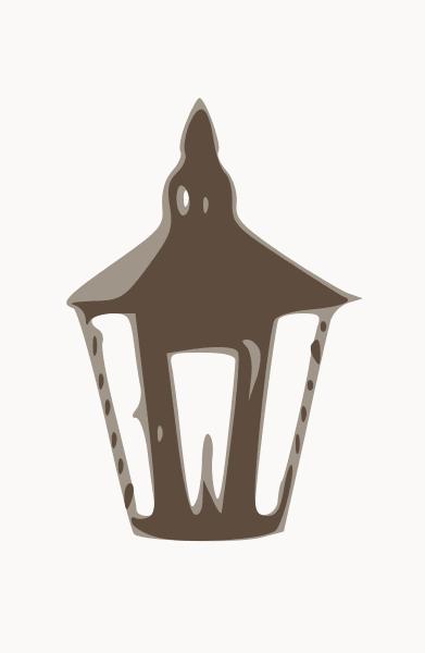 Kensington wall lantern
