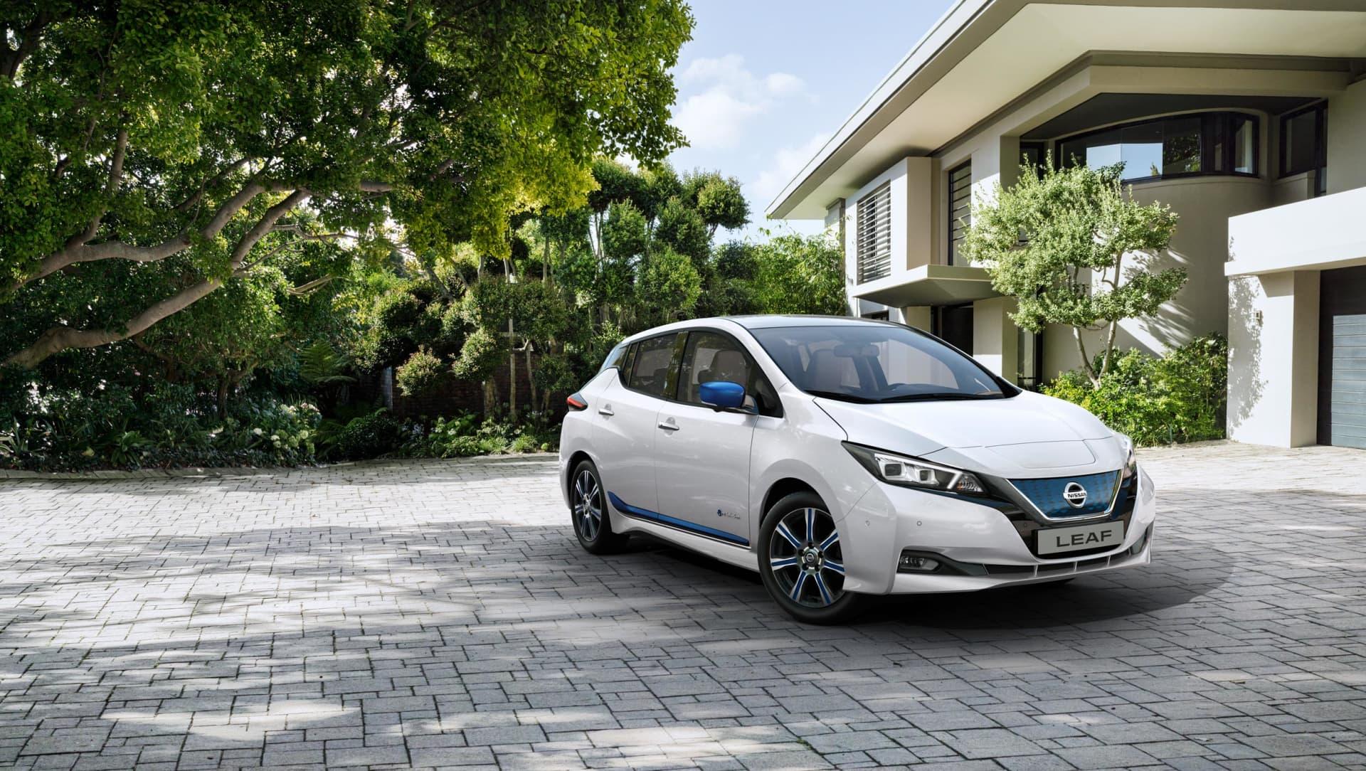 Lagerkampanje på Nissan LEAF