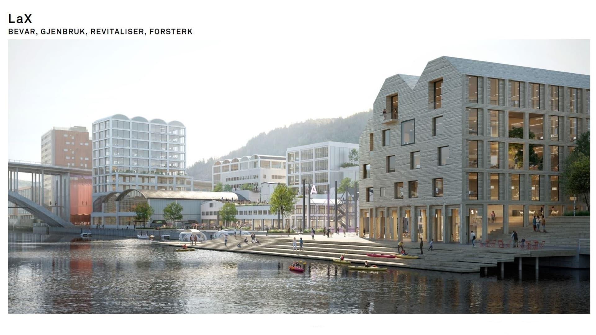 LAX bidrag til arkitektkonkurranse