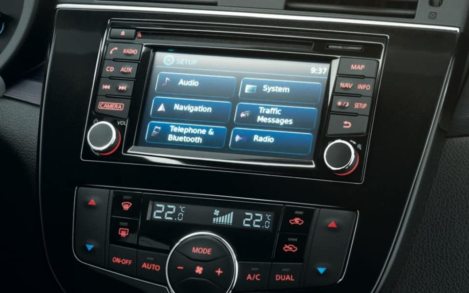 Nissan Connect infortainmentsystem