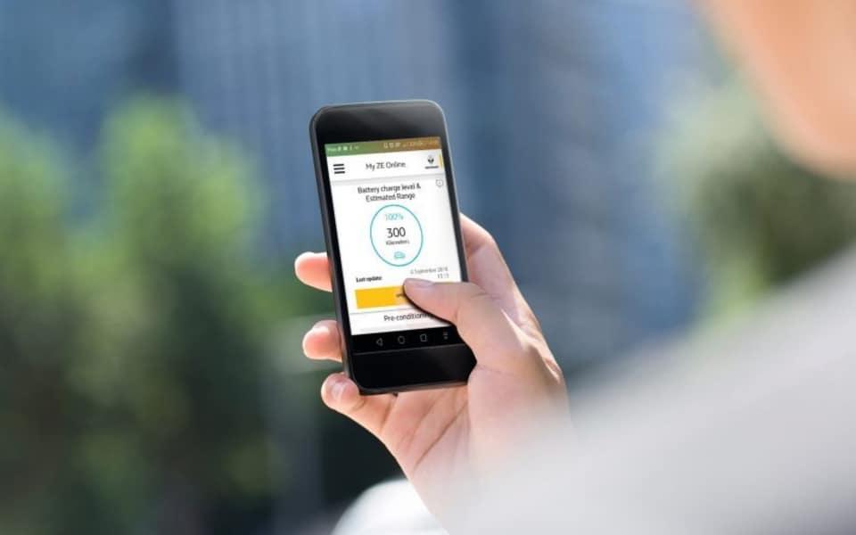 ZOE Z.E. appen på din smarttelefon