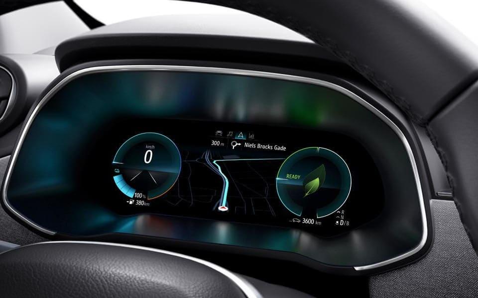 Elektrisk bil med stilig design!