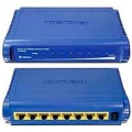 Switch Fast Ethernet C/8 Portas Te100 S8   Trendnet