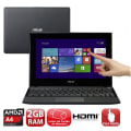 Notebook Asus Série X Touch Amd A4, 2 Gb, 320gb, Led 10.1., Win 8, Preto   Asus