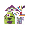 Kit De Utensilios Infantil Monsterchef C/16 Pcs   Tramontina