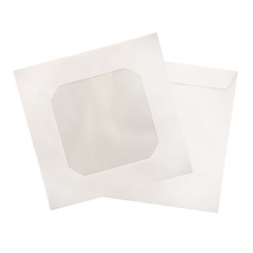 Envelope P/Cd E Dvd Cmd 101 Branco C/Visor Pct C/25   Scrity