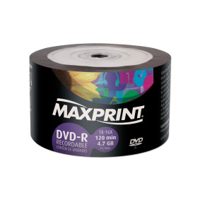 Dvd R 4.7 Gb Pino C/50   Maxprint