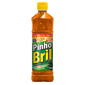 Desinfetante Pinho Bril Original Silvestre 500 Ml   Bombril