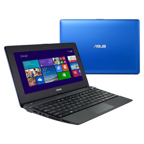 Notebook Asus Serie X Touch Amd A4, 2 Gb, 320 Gb, Led 10.1.,  Windows 8, Azul   Asus