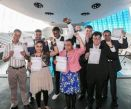 Graduates from the 'Steps into Work' programme