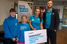 Emily's Swimming Mission for Parkinson's