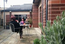 Lincolnshire Library Reading Garden