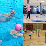 Over 55's enjoying social and gentle activity at Better, Bodmin Leisure Centre