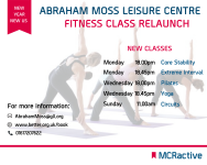We've added new fitness classes...