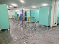 One Way System In Changing Rooms