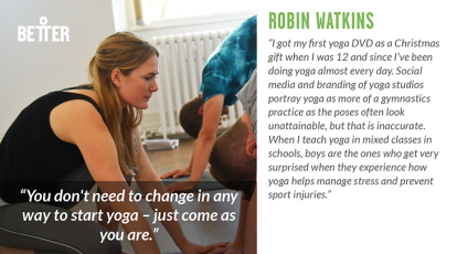 Robin Watkins Yoga teacher