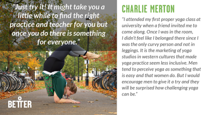 Charlie Merton yoga teacher