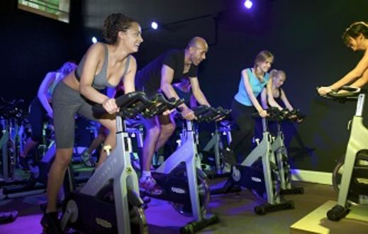 Group Cycling, Spinning in Bath Sports and Leisure Centre