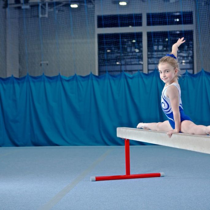Gymnastics at Better Fairwater Leisure Centre Cardiff