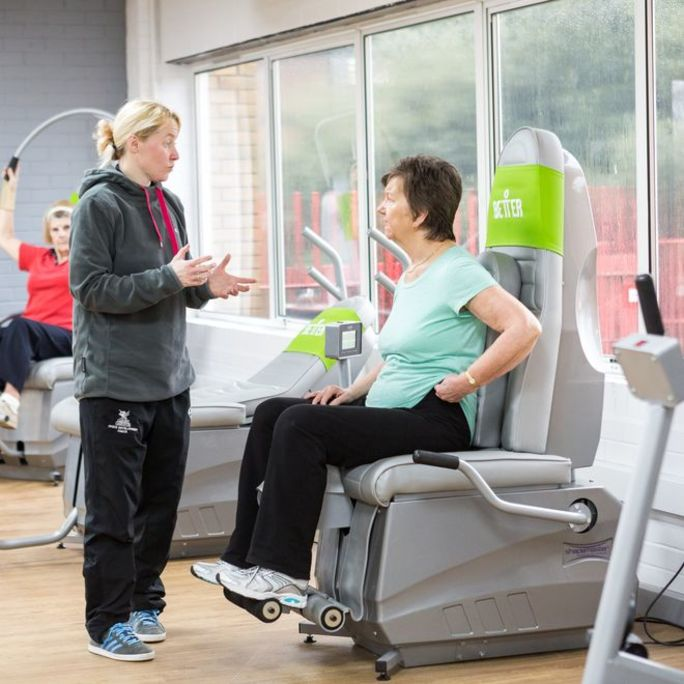 Rehabilitation through exercise at Better Llanishen Leisure Centre