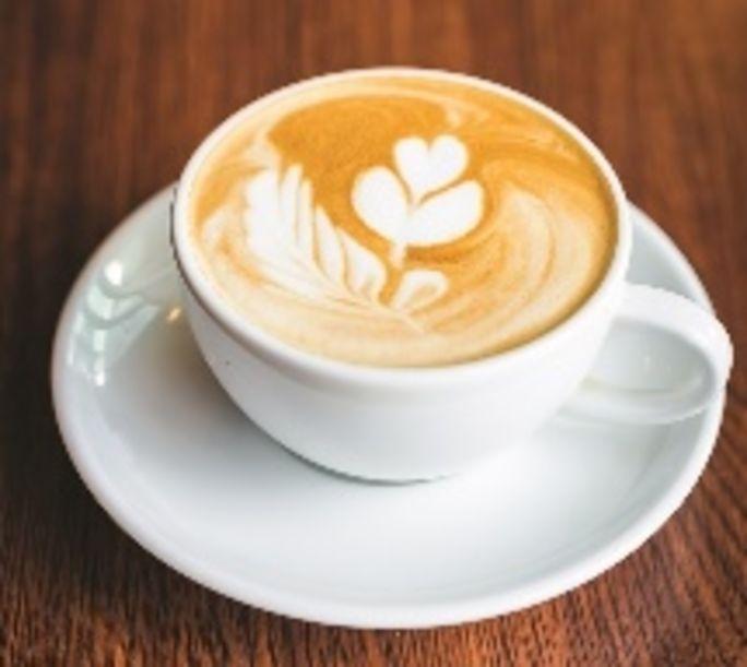 Warm mug of coffee