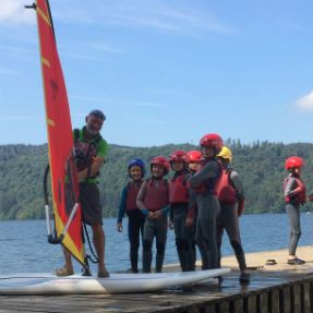 Group windsurfing lessons