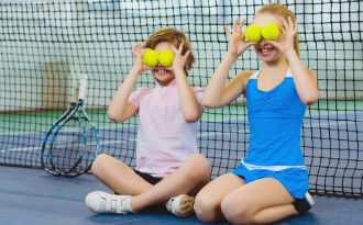 Kids are just the excuse tennis